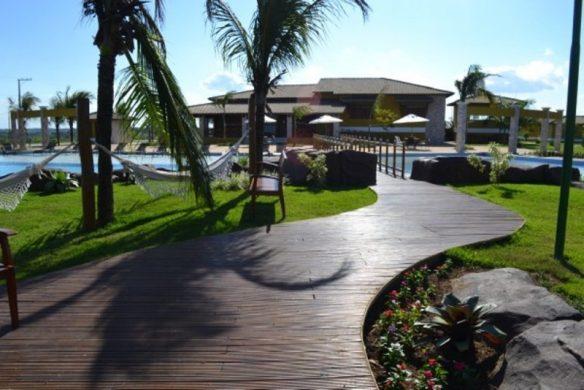 Área de lazer e social - Ilha
